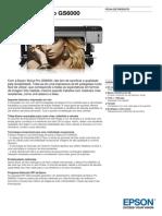 Epson Stylus Pro GS6000 Ficha de Produto