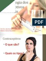 Aula_Farmacologia Dos Contraceptivos Orais Modificada.
