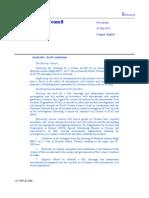Draft Resolution on Flight MH17