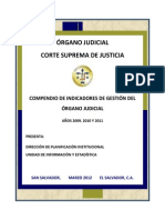 Compendio de Indicadores 2009 - 2011