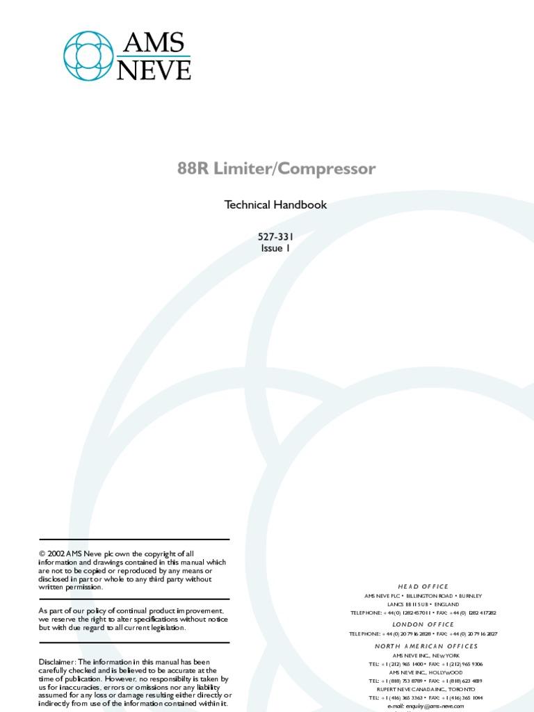 88r Limiter Compressor Amplifier Power Supply 25 Watt Using Tda2009