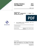 NTC3728 GASODUCTOS