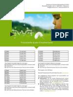 Factsheets Postserver - Preise dualer Einzelversand
