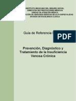 GPC RAPIDA Prevención, Dx. y TX. Insuficiencia Venosa Crónica