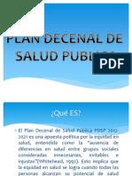 Plan Decenal Seminario