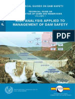 Risk Analysis Appied to Management of Dam Safety