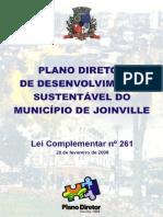 Plano Diretor de Joinville - Lei 261 de 28 de Fevereiro de 2008