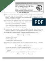 Lista3 Probabilidade 2014 1