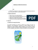 ENERGÍAS ALTERNATIVAS EN BOLIVIA