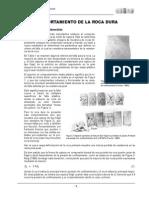Comportamiento Roca Dura y Fragil