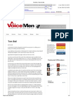 Tom Ball  a Voice for Men