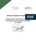 Guia de Cuidados Al Alta de Pacientes Con Protesis de Cadera