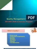 ISO 9001 2008 Awareness