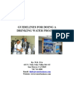 Guidelines for Doing a Drinking Water Project Pt 1
