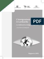 L'Immigrazione Straniera in Lombardia 2012
