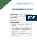 SATYAM- Case Study of Corporate Governance