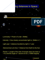 PP Measuring distances in space