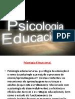 Psicologia Educacional.