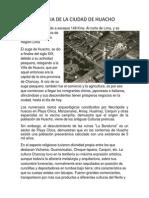 Historia de La Ciudad de Huacho
