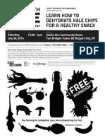 Kale Chips Workshop 07.26.14