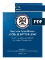Schuette report on escaped prisoner