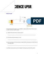 Upsr Science