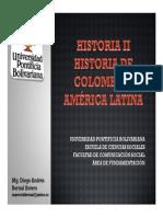 Cronograma de Sesiones y Exposiciones Historia II Grupo A