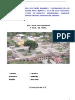 Mejoramiento de Redes Electricas Primarias y Secundarias