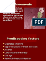 Respiration 6 Pneumonia