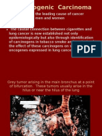 11. Bronchogenic  Carcinoma