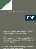 Cardiovascular 7. Acute Myocarditis