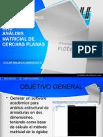 Mac - Análisis matricial Cerchas