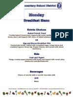 production menu cutomer menu updated