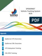 Spidernet -Ncr Vts _training on Ipsc n Uat