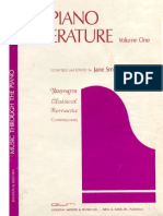 MÚSICA - Partitura Piano - Bastien - Piano Literature Vol 1