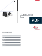 Leica DM500 Manual PT