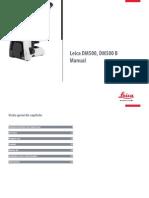 Leica DM500 Manual PT