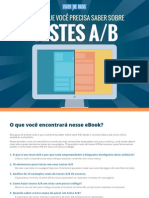 [Viver de Blog] eBook Teste AB
