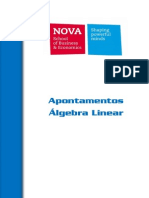 Apontamentos Álgebra Linear