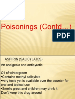 poisonings (contd...)