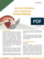 ARTIGO 01 Provisorios Imediatos Sobre Implantes CM