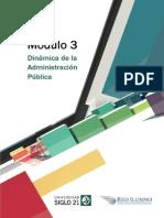 M3 - L3 - Dinámica de La Administración Pública Limitaciones a La Propiedad Privada
