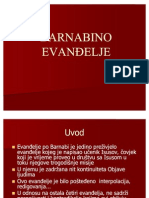 BARNABINO EVANĐELjE