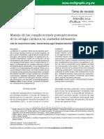 complicaciones postquirurgicas