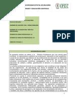 Syllabus de Modulo Practica Profesional