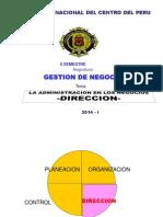 Direccion 2014-i Gestion