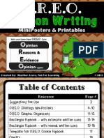 oreoopinionwritingstrategyminipostersprintables