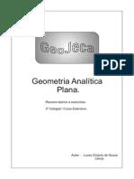 Estudo de Geometria Analitica