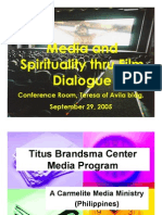 Media and Spirituality through Film Dialogue