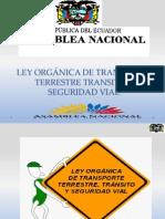 Ley Organica de Transporte
